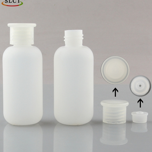 60ml PE plastic nail remover bottles with 18/410 neck finish JF-005