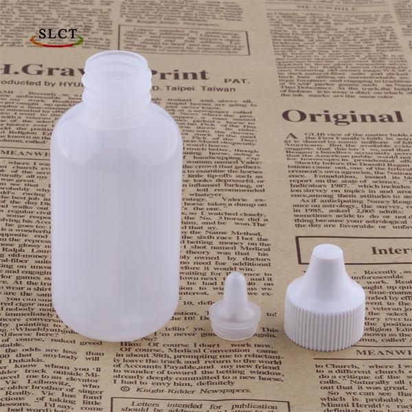 60ml plastic dropper bottle detail