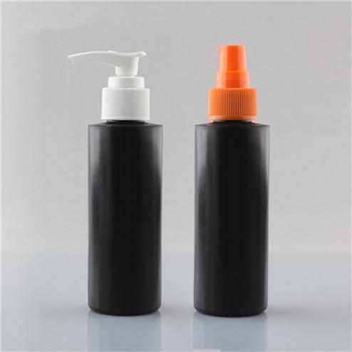 240ml (8oz) cylinder plastic bottles with 24/410 neck finish