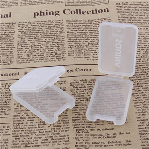 manufacturing Transparent PP rectangular plastic card box YHF-902