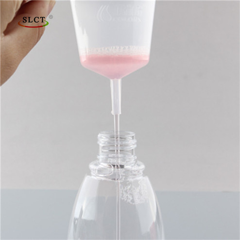 Mini PP handheld plastic funnel manufacturing