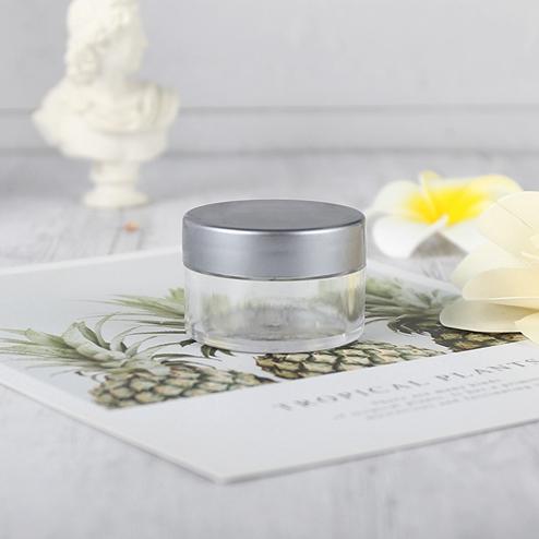 15ml PS jar with silver screw lid GFA-551