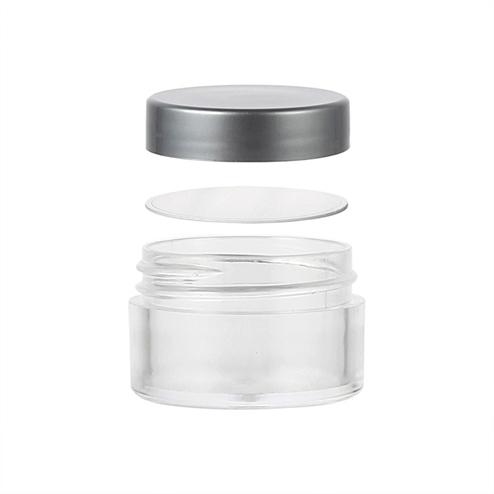 15ml cream jar with pad