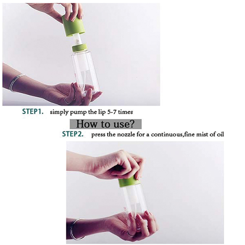 how to use pet-448 pump bottle