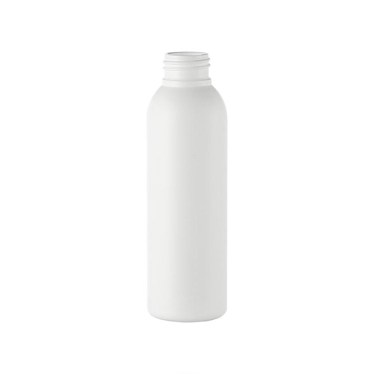 white cosmo shape plastic bottle