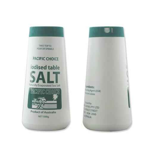 500g salt bottle manufactuer in China