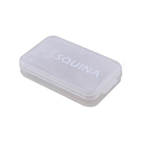 Transparent PP rectangular plastic card box YHF-902