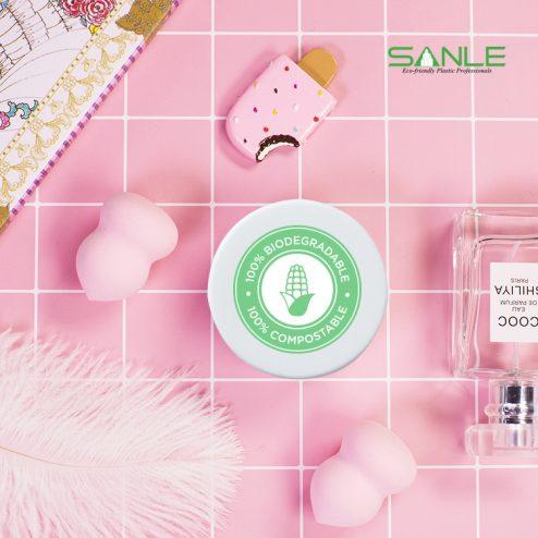 Wholesale PLA biodegradable multi-use bottles cosmetic cream jar food bottle medicine container
