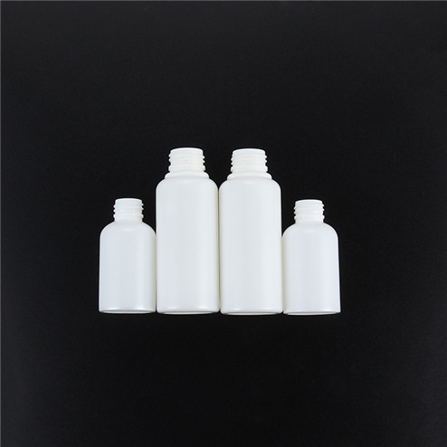 Custom PLA corn strach plant bioplastic compostable cosmetic bottles Beauty lotion sample container