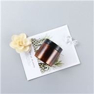 120ml Amber Custom plastic pet jar