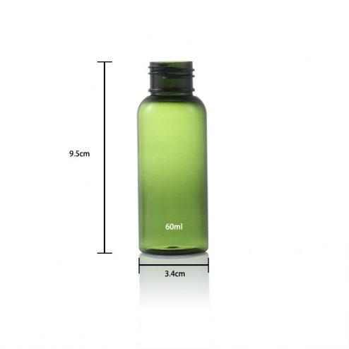size of 2 oz (60ml) bottle 3.4*9.5cm