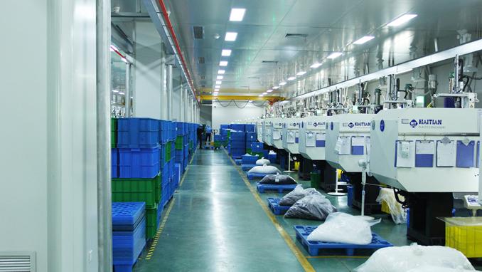 sanle factory bottle machine workshop