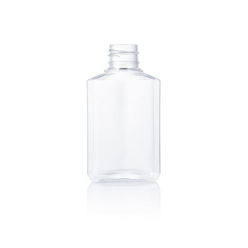 Travel size hand sanitizer bottle, empty bottle