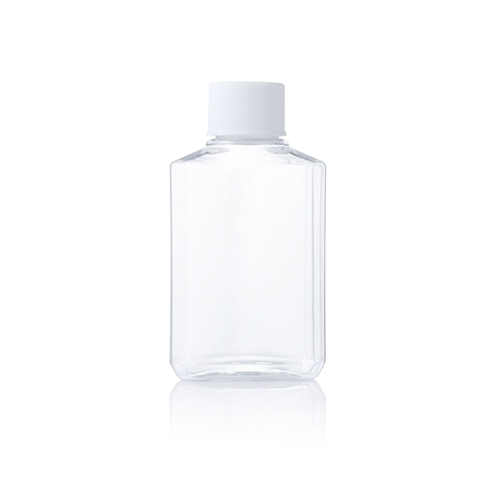 Portable hand sanitizer bottle with screw cap