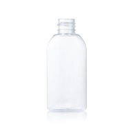 60ml flat clear bottle