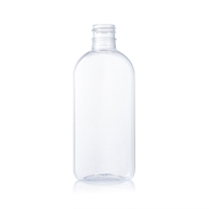 clear and flat pet bottle