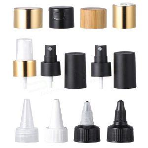 cosmetic plastic bottles caps